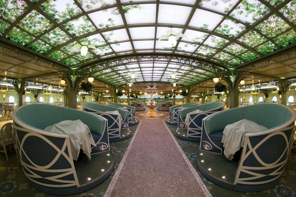 Enchanted Garden on Disney Fantasy
