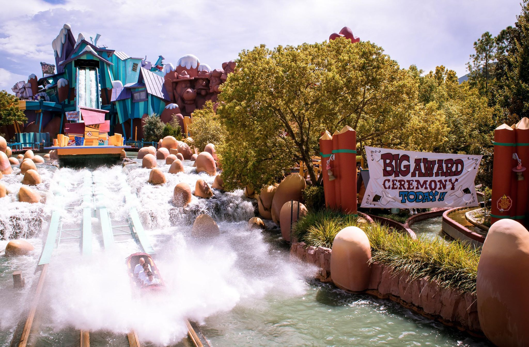 Dudley Do-Right&Ripsaw Falls Universals