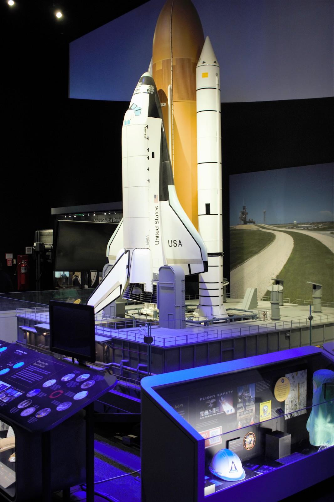 adler planetarium space shuttle simulator - photo #8