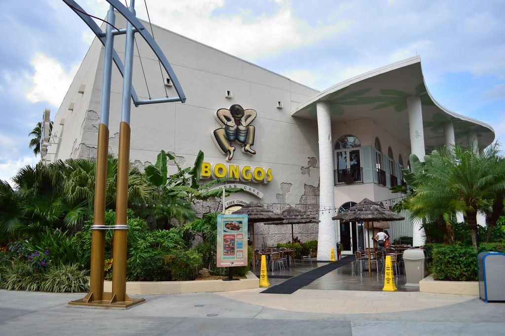 Bongos Cafe Hollywood Menu