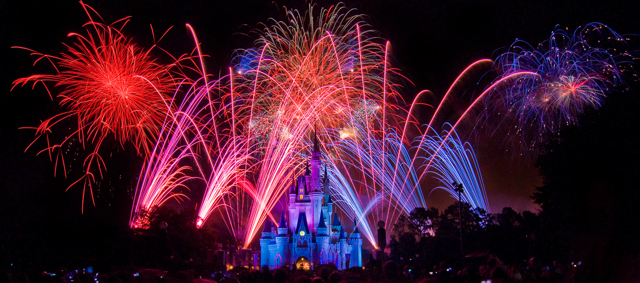 Magic Kingdom July 4 Fireworks