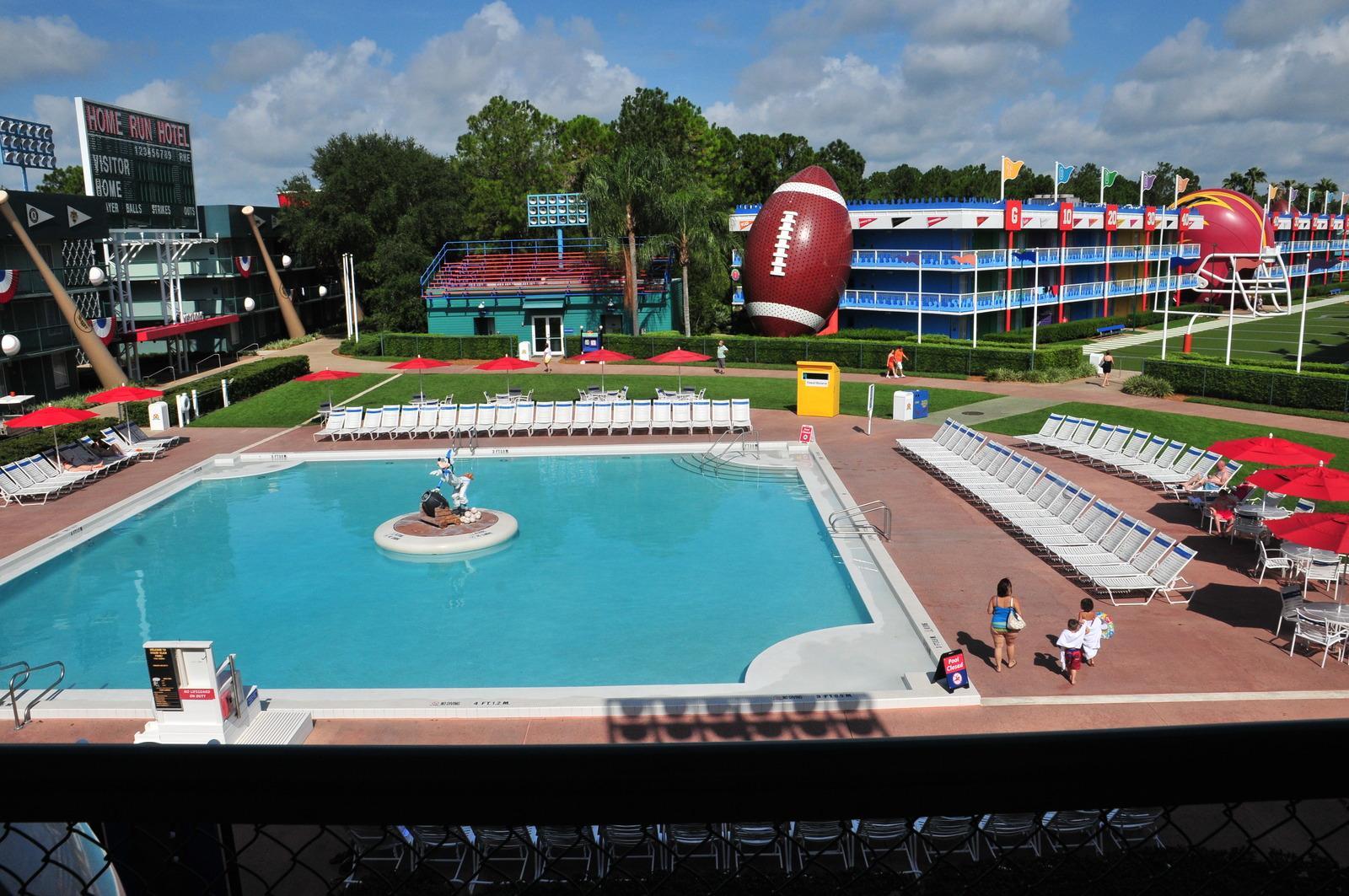 view of disney's all-star sports resort